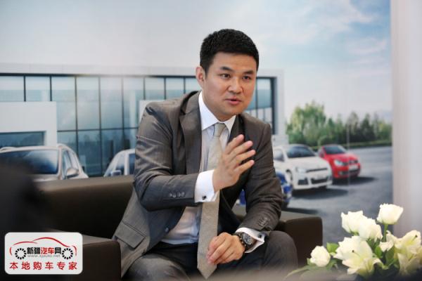 大众汽车(中国)销售有限公司大众品牌总经理胡波先生接受新疆主流媒体采访