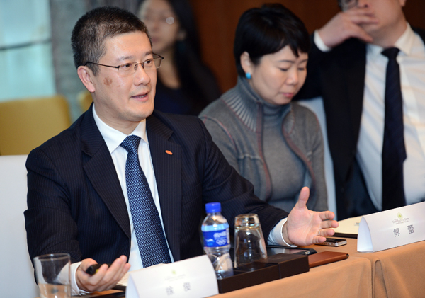 杜邦公司中国区公共事务总监徐俊图片