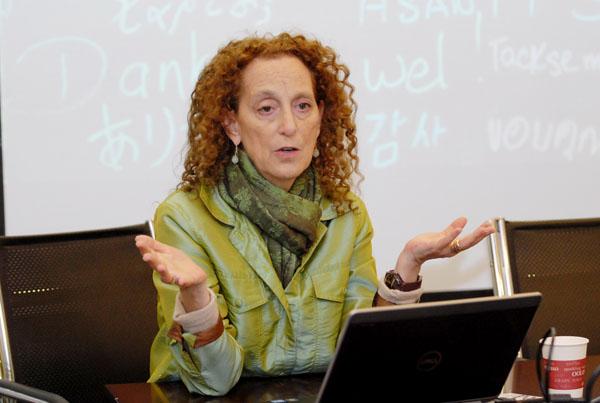 万博宣伟全球首席声誉战略官Leslie Gaines-Ross博士