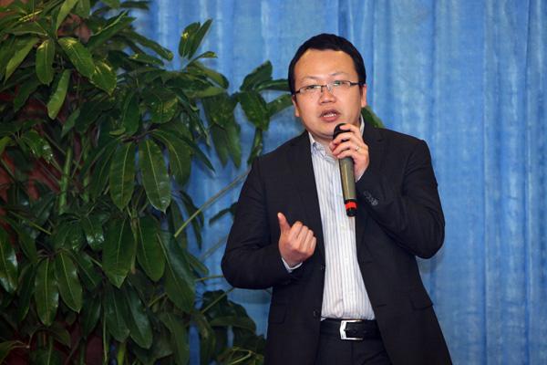 趋势中国首席战略顾问易广涛出席苏秦大讲堂