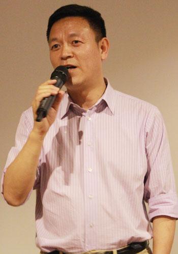海天网联董事副总裁杨为民