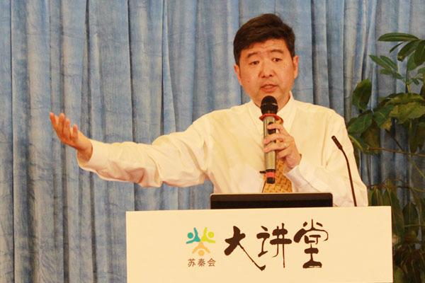 苏秦会资深会员、美国飓风网络公司F5 Networks中国区市场总监王学军先生