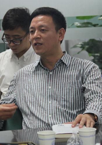 海天联网董事副总裁杨为民